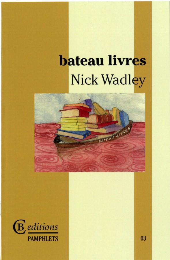 bateau livres. 2012, CB editions, London